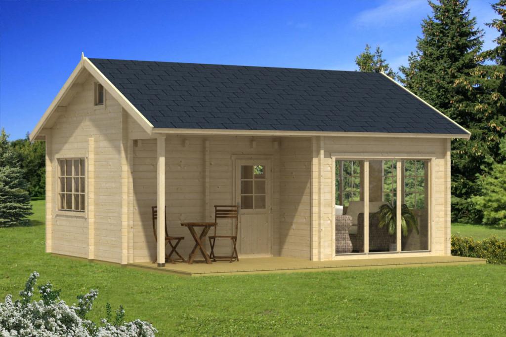 خانه چوبی تابستانی